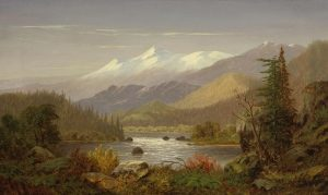 Mt Shasta and the Sacramento River - Frederick A Butman